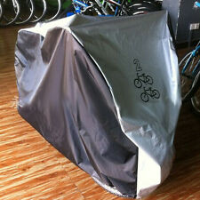 For 2 Bikes Waterproof Polyester Bicycle Cycle Bike Cover Outdoor Rain DustProof