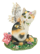 Tessa Fairy Cat Figurine Faerie Glen Collection - Munro Gifts