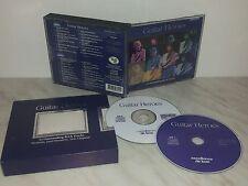 2 CD GUITAR HEROES - SANTANA, HENDRIX, CLAPTON