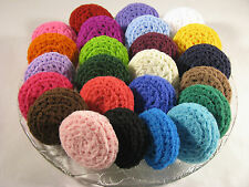 Crochet Scrubbies Dish Scrubber Nylon Net Scrubby Handmade, You Choose Your 6