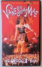 vanessa mae LIVE AT THE ROYAL ALBERT HALL the red hot tour VHS VIDEOTAPE