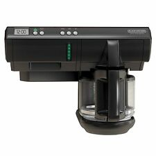 Under Counter Coffee Maker Save Space 12Cup Programmable Hanging Cabinet Home RV