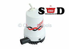 3000GPH 12V SUBMERSIBLE BOAT WATER DRAIN FLOW SIPHON SUCK DRAW BILGE PUMP CT1733