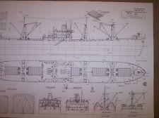 JEREMIAN OBRIEN liberty ship plan  model plan