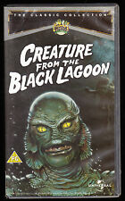CREATURE FROM THE BLACK LAGOON (1954) - RICHARD CARLSON - VHS PAL (UK) VIDEO