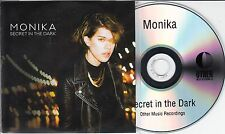 MONIKA Secret In The Dark 2015 UK 12-track promo test CD + press release Daptone
