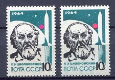 28737) RUSSIA 1964 MNH** Nuovi** Leaders in rocket theory 1v.+1v,