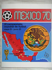 MEXICO 70 WORLD CUP - PANINI OFFICIAL REPRINT, COMPLETE ALBUM, NEW & SEALED.!