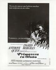 Ingrid Bergman Anthony Quinn Walk in the Spring Rain 1970 movie photo 16262