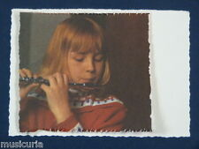 ak~ handmade greetings / birthday card 60s PICCOLO PLAYER