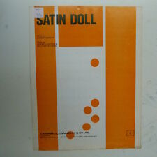 songsheet SATIN DOLL Duke Ellington Billy Strayhorn , 1960