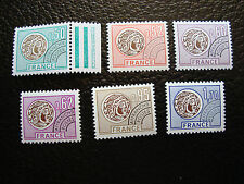 FRANCE - timbre yvert et tellier preoblitere n° 138 a 141 143 145  n**(A24)stamp