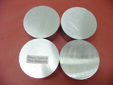 "4 Pieces 2"" ALUMINUM 6061 ROUND ROD 1.5"" long T6511 NEW Lathe Solid Bar Stock"
