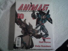 ANIMAG # 10 1990 MAGAZINE OF JAPANESE ANIMATION  in English  FORCE ZETA GUNDAM