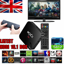 MXlll Quad Core Android 4K TV Box 2G Ram 8GB KitKat 4.4 FULLY LOADED Air Mouse