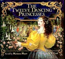 Twelve Dancing Princesses by Marianna Mayer c1989, VGC Hardcover Ships Free