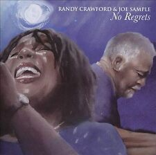 No Regrets (CD) by Randy Crawford and Joe Sample (SEALED, NEW) Shelf GS 6