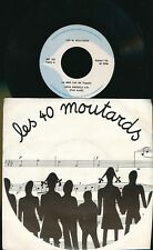 "LES 40 MOUTARDS 45TOURS 7"" BELGIQUE MICHEL FUGAIN JEAN VALLEE FOLK ISRAEL NICOLE"