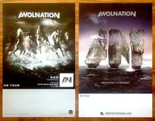 AWOLNATION Run | Megalithic Symphony Ltd Ed 2 New RARE Posters + Stickers Lot!