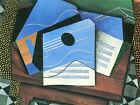 JUAN GRIS TABLE WITH GUITAR OLD MASTER ART PAINTING PRINT POSTER 1775OMA