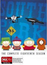 South Park : Season 18 (DVD, 2015, 2-Disc Set) R/4