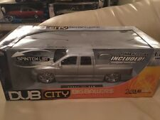 Dodge Ram Silver 1:18 Dub City Big Ballers