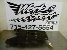 D961 HONDA 87 - 05 TRX250X 300EX REAR SWING ARM SKID PLATE BLACK OILY 50355-HCO-