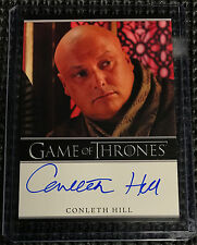 Conleth Hill - Game of Thrones Season 2 Autograph Card Rittenhouse - Varys