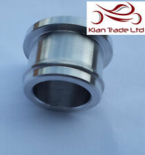 34MM BILLET BOV RECIRC VALVE BLOW OF VALVE BLANKING SILICON BUNG PLUG HOSE- L WT