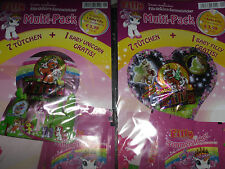 Filly Unicorn Sammel-sticker Multi-Pack/14 Tüten + 2 Baby Filly / Oberon