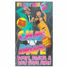 CHAS & DAVE Boots, Braces & Blue Suede Shoes VHS SEALED