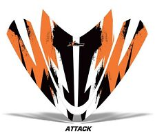 AMR RACING SLED HOOD WRAP GRAPHIC DECAL ARCTIC CAT M7 M8 SNOWMOBILE PART ATTCK O