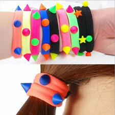 10x Elastic Rope Ring Hairband Women Girls Hair Band Ponytail Holder EWUK