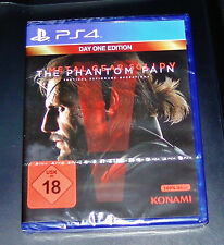 METAL GEAR SOLID 5 THE PHANTOM PAIN DAY ONE EDITION 100% UNCUT FÜR PS4 NEU & OVP