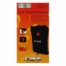 Camping Shower Portable Outdoor Solar Heated Camping PVC Bag 20 Litres