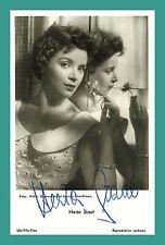 HERTA STAAL | Schauspielerin | Original-Autogramm auf UFA-Starpostkarte