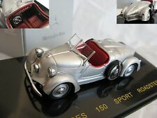1/43 Mercedes Benz 150 Sports Roadster (1935) diecast silver