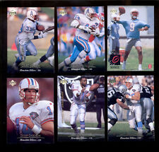 1995 UD Houston Oilers Set ERNEST GIVINS RAY CHILDRESS STEVE MCNAIR Rookie