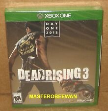Dead Rising 3 Day One Edition New Sealed (Microsoft Xbox One, 2013)