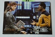 Star Trek Episode 190 Galaxys Season Four SkyBox Trading Card Back puzzle P1 HS