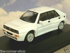 "EXCELLENT DIECAST 1/43 1987 LANCIA DELTA HF INTEGRALE ""HOT HATCH"" IN WHITE"