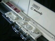 Brother knitting machine kh 950i electroknit serviced prestine white condition
