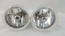 """4"""" ROUND HID LOOK CAR TRUCK SUV HALOGEN REPLACEMENT  FOG LIGHTS SET PAIR 2"""