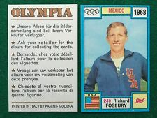 OLYMPIA 1972 n.240 FOSBURY USA SALTO IN ALTO , Figurina Sticker Panini (NEW)