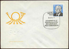 East Germany 1975 Wilhelm Pieck FDC First Day Cover #C14770