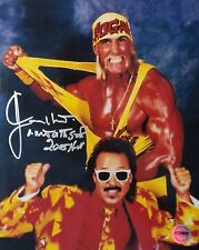 "Jimmy Hart ""Mouth of the South"" Signed 8x10 Photo FSG Authenticated #4"