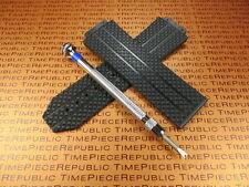 HUBLOT Rubber Strap Tire Watch Band and H Screw Driver Set 44 44.5 mm Big Bang I