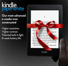 "New Amazon Kindle Paperwhite 6"" High Resolution Next-Gen Built-in Light 4GB"