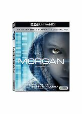 MORGAN  (4K ULTRA HD)- Blu Ray - Sealed Region free