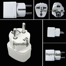 Portable Travel Home Charger Adapter Converter US UK to Euro Plug AC Power NEW